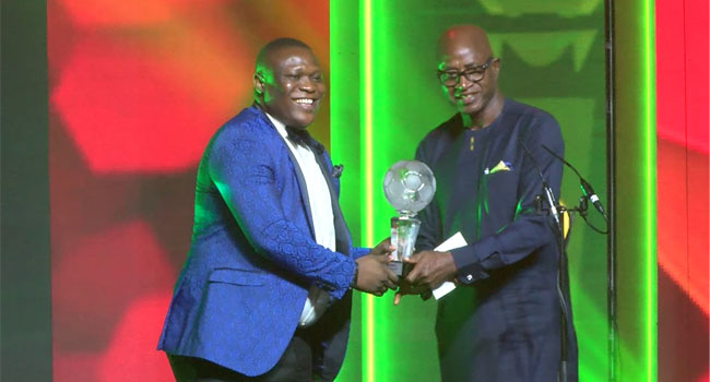 Channels TV Wins Aiteo-NFF Development Award