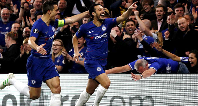 UPDATED: Chelsea Defeat Slavia Prague To Reach Europa League Semis
