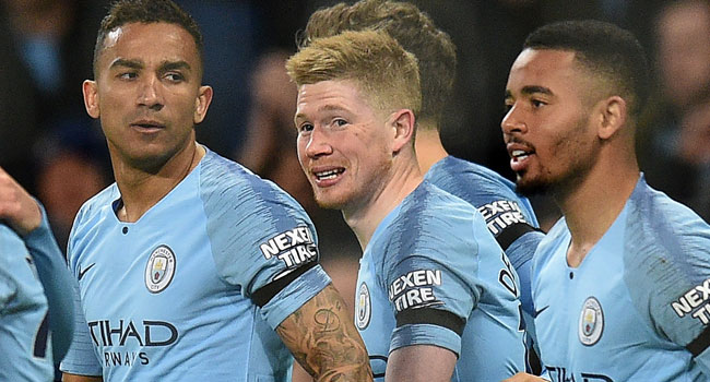 Man City Beat Cardiff To Leapfrog Liverpool In League Summit