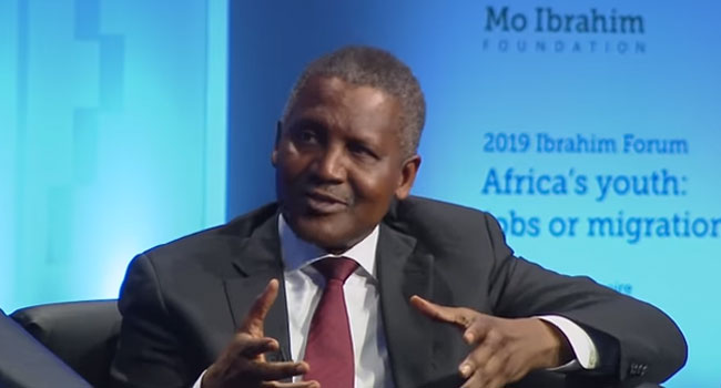 I Once Withdrew $10m To Prove To Myself That I Have Money – Dangote