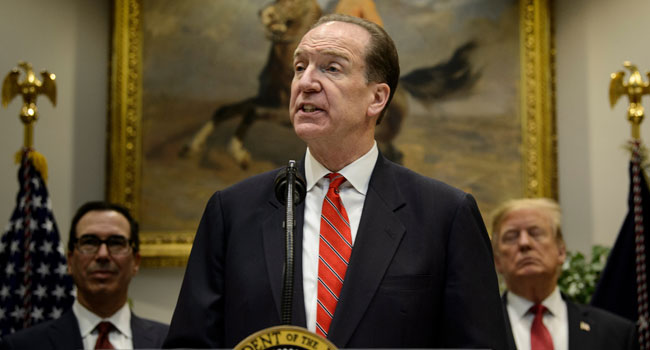 American David Malpass Named World Bank President