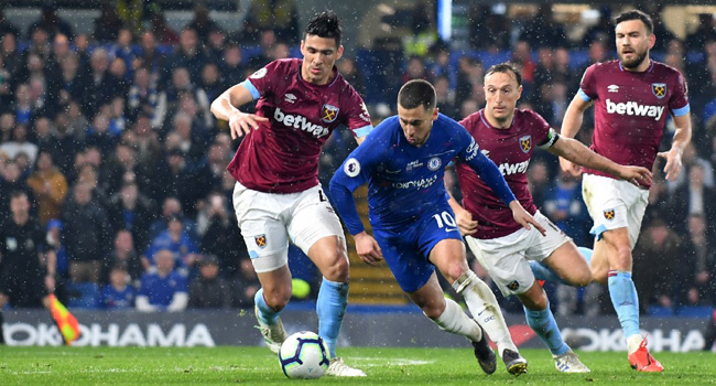 Hazard Too Good For West Ham As Chelsea Go Third