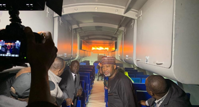 PHOTOS: FG Spends Over Five Billion Naira On Aviation Fire Training Facility