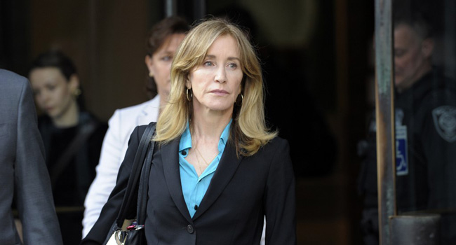 Actress Felicity Huffman Pleads Guilty In College Admissions Scandal