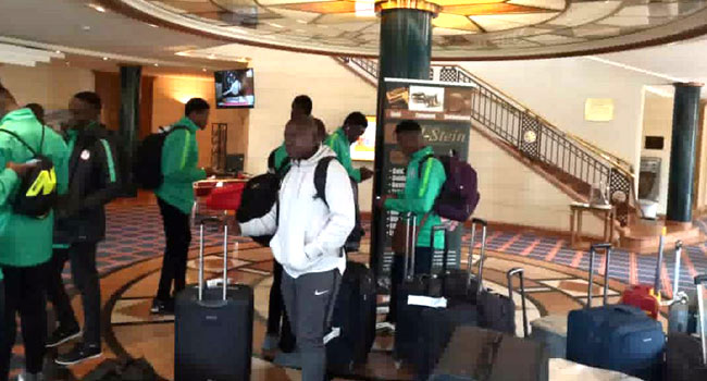 Flying Eagles Arrive In Germany For U20 World Cup Training