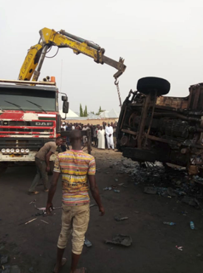 11 Killed, Several Injured As Tanker Explodes In Gombe - Channels Television 3