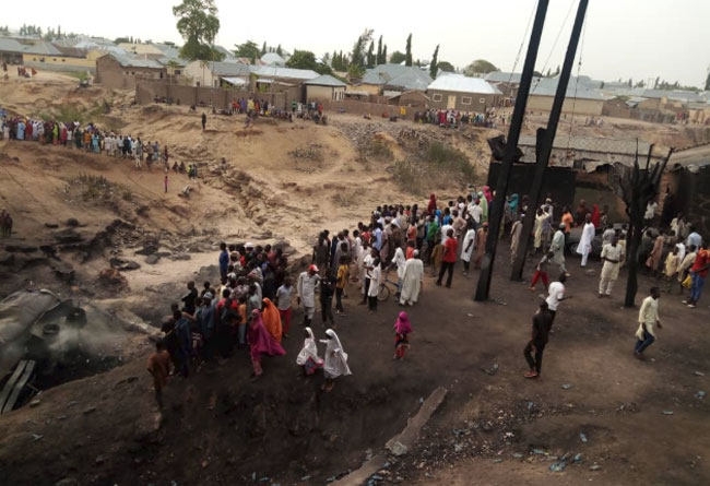 11 Killed, Several Injured As Tanker Explodes In Gombe - Channels Television 5