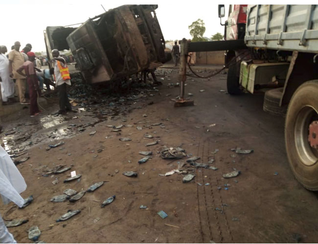 11 Killed, Several Injured As Tanker Explodes In Gombe - Channels Television 6