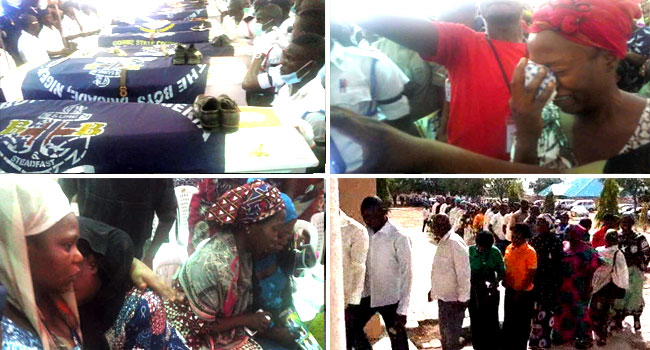 Victims Of Gombe Easter Killings Laid To Rest Amid Tears