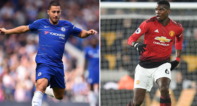 Pogba, Hazard: Who Will Deliver Dramatic Top Four Finish For United, Chelsea?