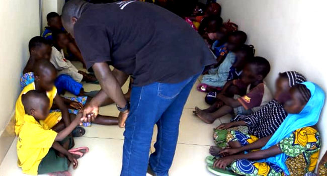 157 Children Rescued From Traffickers At Nigeria-Benin Border – INTERPOL