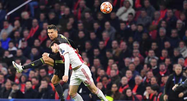 Ajax Draw Juve In First Leg Of Champions League Quarter-Final
