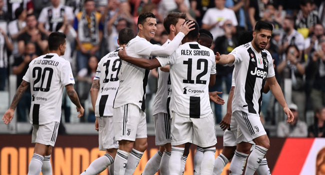 Juventus Win Eighth Consecutive Serie A Title