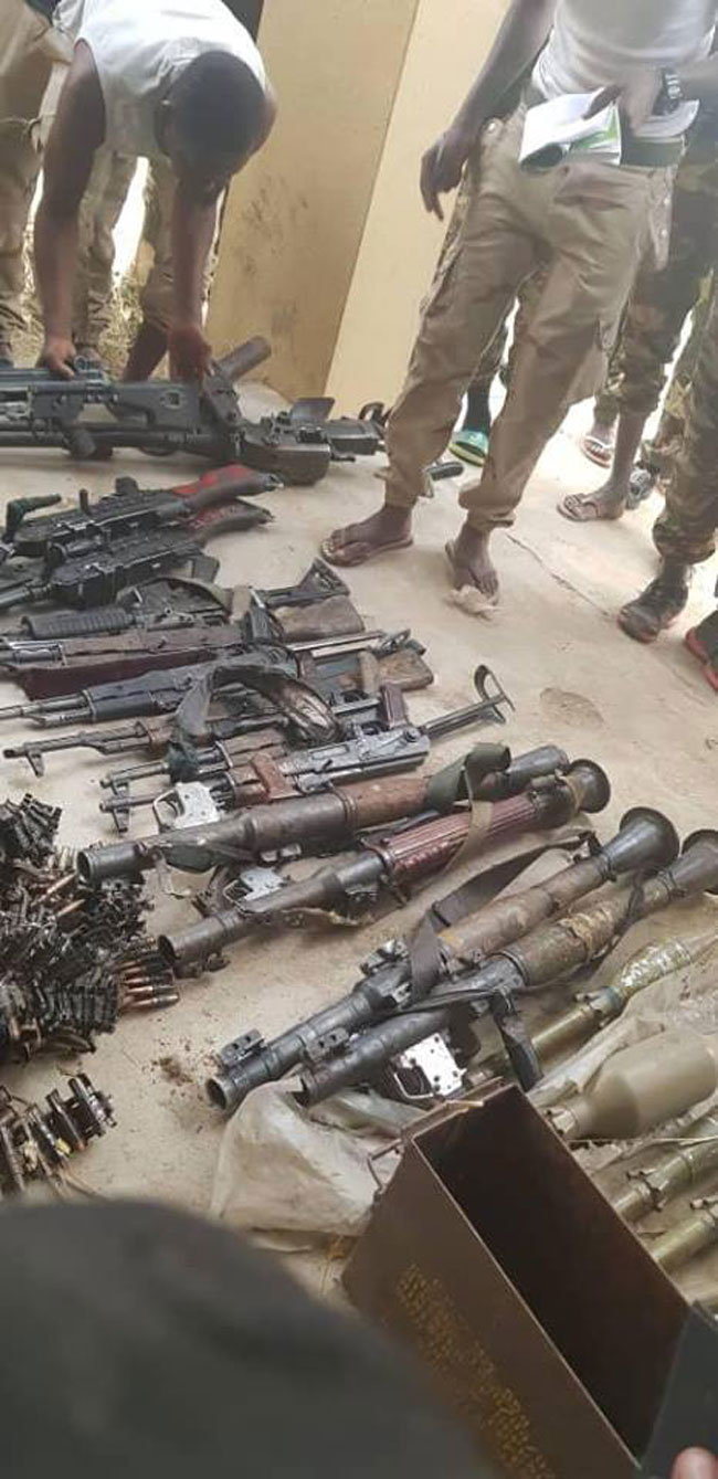 Army Kills 27 Boko Haram Fighters, Recovers Arms - Channels Television 9