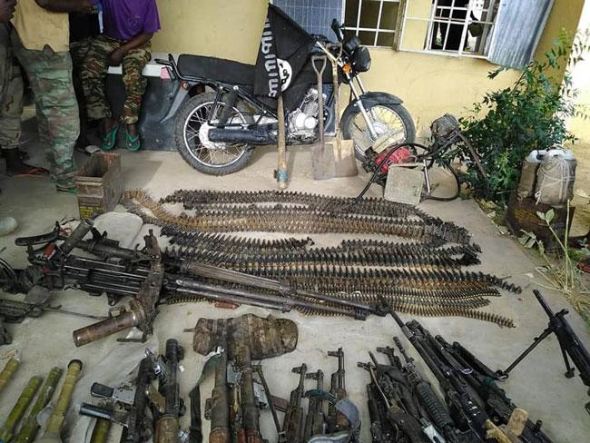 Army Kills 27 Boko Haram Fighters, Recovers Arms - Channels Television 10