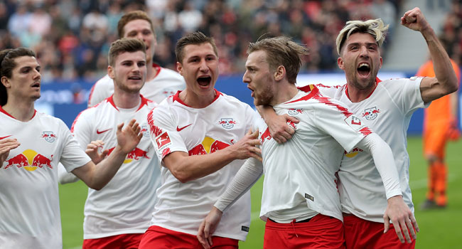 Leipzig On Champions League Course After Win At Leverkusen