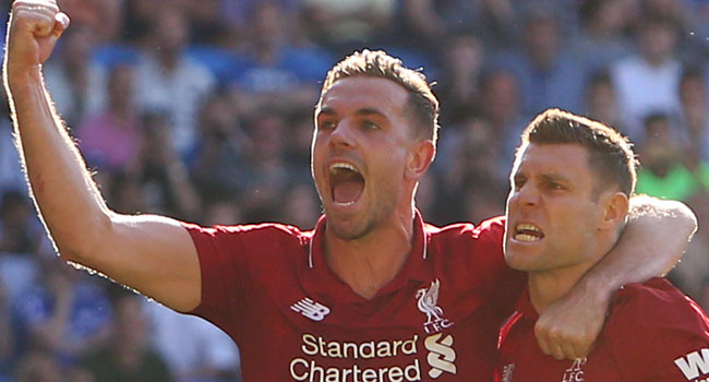 Liverpool Beat Cardiff To Mount Pressure On City