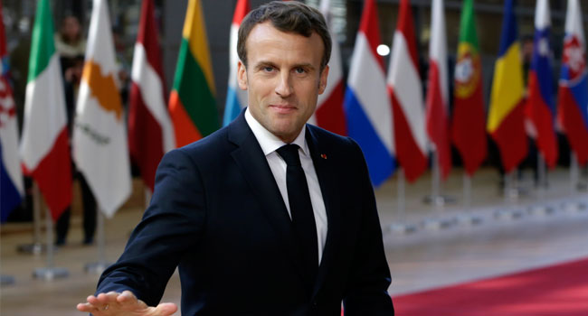 Macron Insists Long Brexit Delay Not 'Decided'