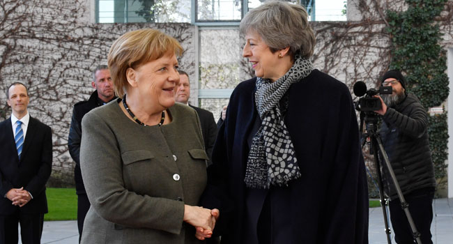 Theresa May In Talks With Merkel, Macron Over Brexit Delay