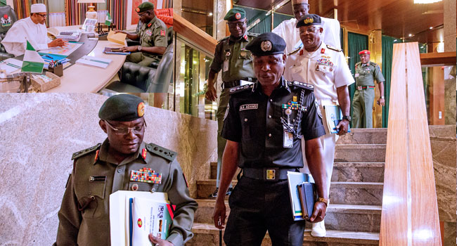 Buhari Orders Security Agencies To Deal Ruthlessly With Bandits, Others