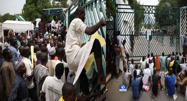 Abuja Indigenes Protest At National Assembly