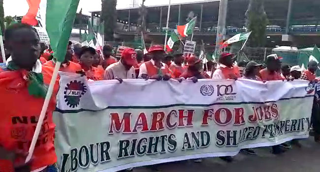 NLC, TUC 'March For Jobs' In Abuja