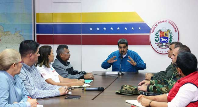 Maduro Announces 30 Days Of Electricity Rationing In Venezuela