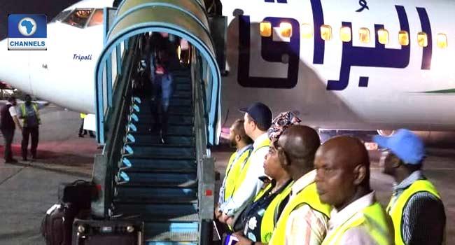 NEMA Receives 132 Stranded Nigerians From Libya
