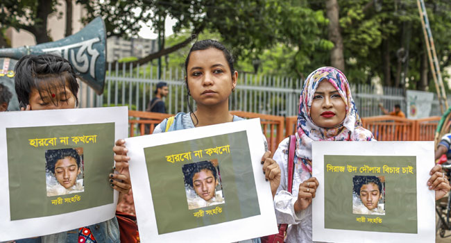 Bangladeshi Student Burnt To Death On Teacher's Order – Police