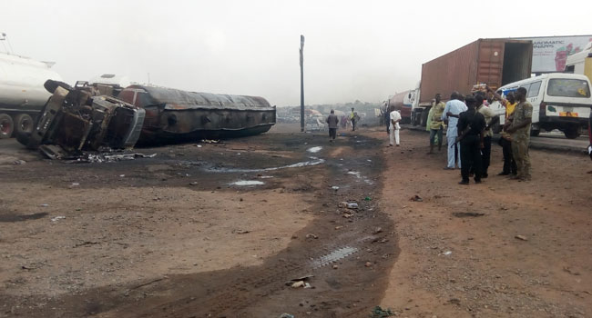 Two Killed In Oyo Petrol Tanker Explosion