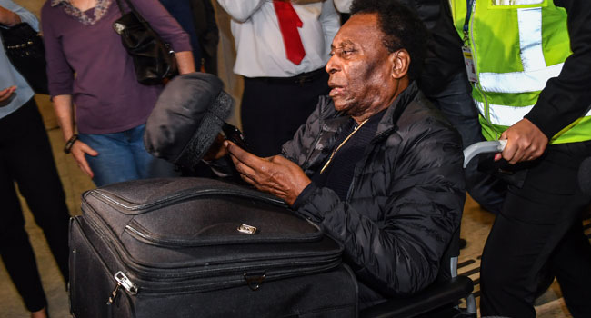 Pele Back In Brazil After Hospital Stay In France