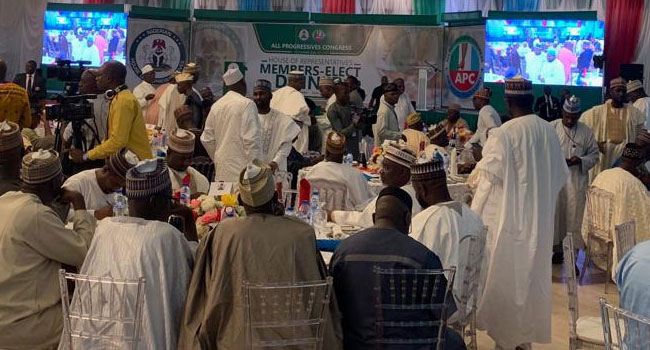 APC Adopts Femi Gbajabiamila As Candidate For Speaker - Channels Television 3