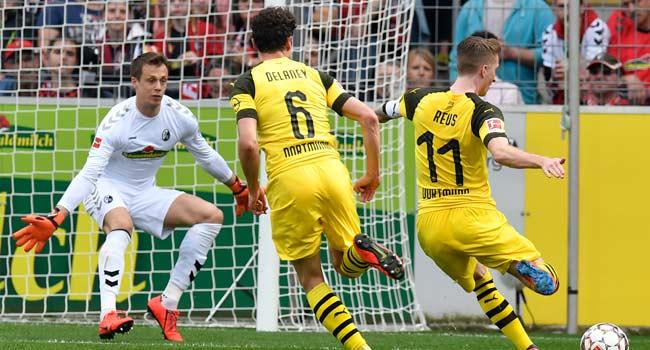 Reus Inspires Dortmund's Win Over Freiburg Despite Injury