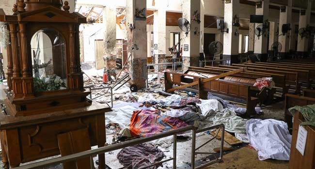 Sri Lanka Lowers Death Toll To 253, Admits Calculating Error
