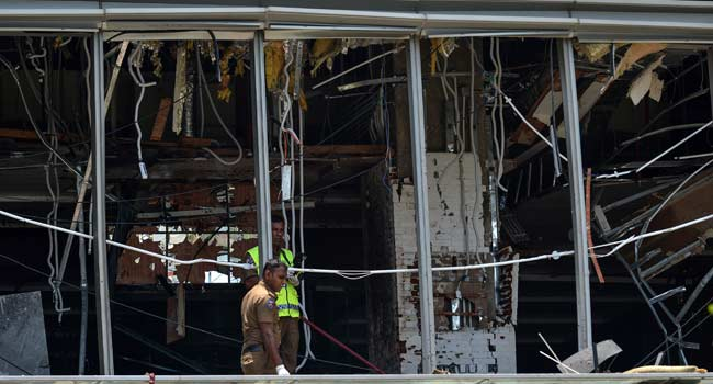 Sri Lanka Confirms Death Of Radical Leader In Easter Bombings