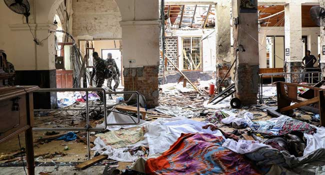 Death Toll In Sri Lanka Blasts Rises To 207 – Police