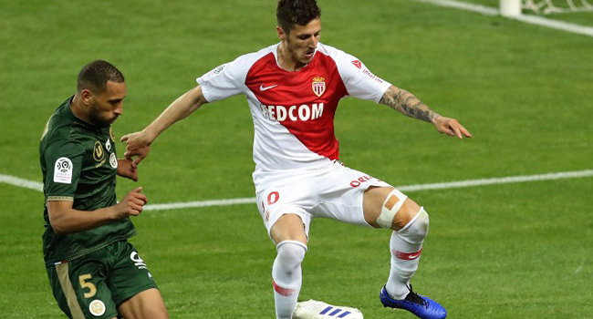 Monaco's Jovetic Suffers Knee Injury, Out For Season