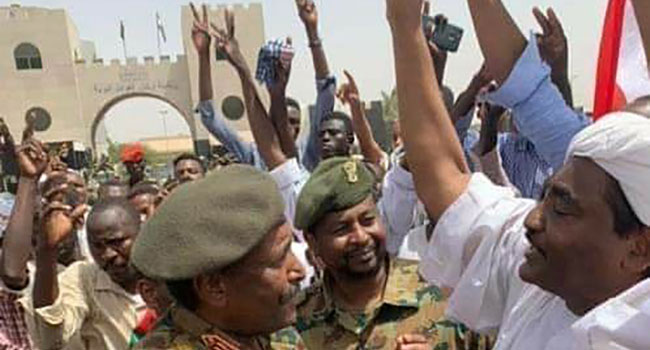 Jubilation In Sudan As Military Chief Steps Down