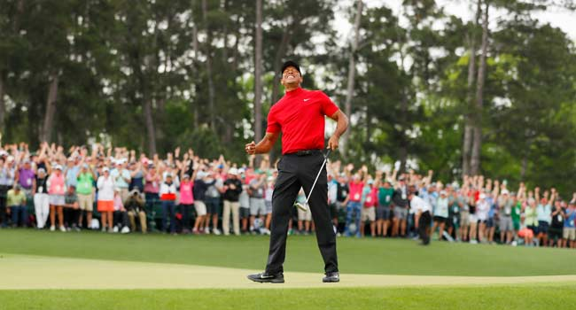 Tiger Woods Climbs To World Number 6 After Sunday's Victory