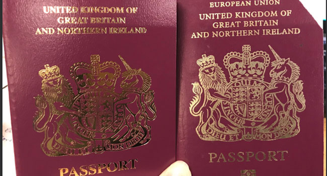 Britain issues post-Brexit passports… before actually leaving the EU