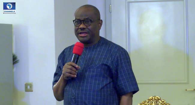 Wike Receives Adamawa Governor-Elect Fintiri, Advises Him On Governance