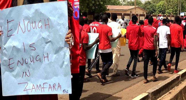 Group Protests In Abuja, Demands End To Zamfara Killings