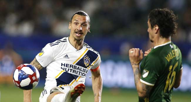 Zlatan Scores Twice To Lift LA Galaxy