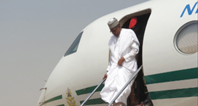 Buhari Arrives Maiduguri To Inaugurate Developmental Projects