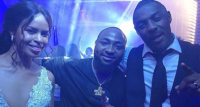 Davido Thrills Audience At Idris Elba's Wedding