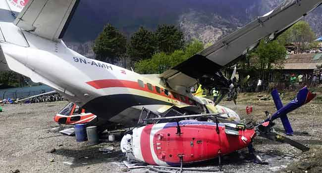 Three Killed In Aircraft Runway Accident Near Mount Everest