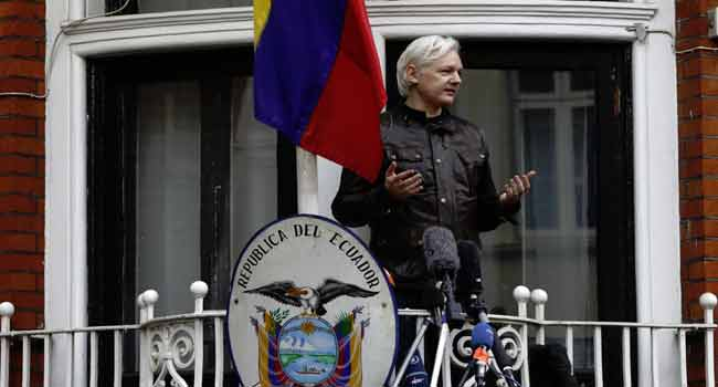 Assange Faces Up To 5 Years In Prison On Hacking Charges – Justice Dept