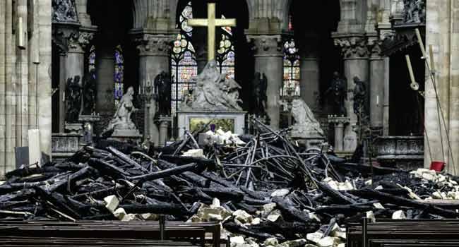 Donors Pledge 700million Euros To Rebuild Notre-Dame