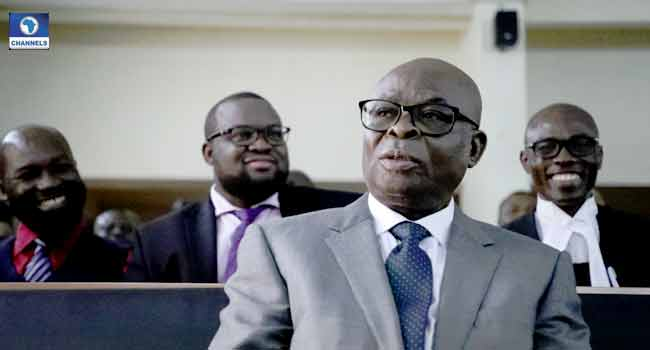 UPDATED: Onnoghen Convicted, Banned From Holding Public Office For 10 Years