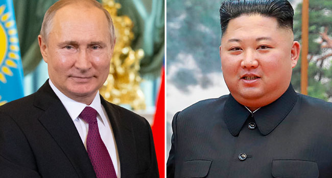 Putin, Kim Jong Un To Hold First Talks In Russia